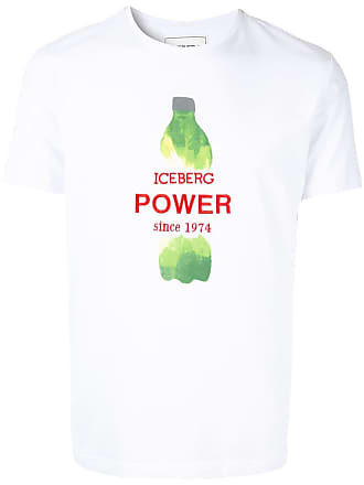 Iceberg logo T-shirt - White