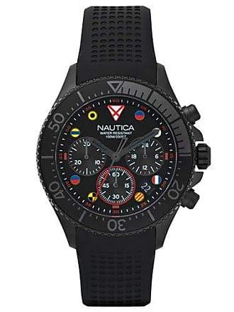 e579f89b542 Nautica Relógio Nautica Masculino Borracha Preta - NAPWPC003