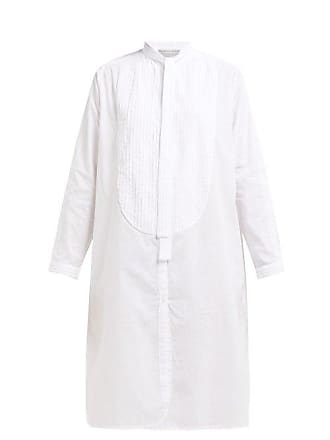 Queene and Belle Queene And Belle - Iona Pintucked Cotton Shirtdress - Womens - White