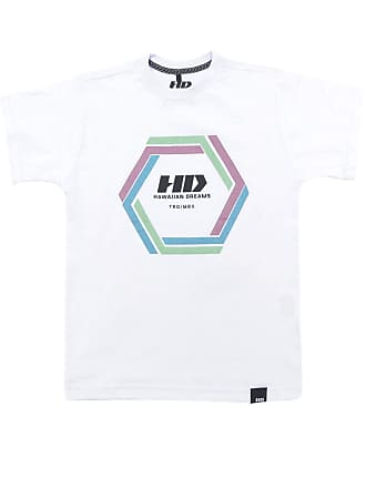 Hawaiian Dreams Camiseta HD Menino Estampa Frontal Branco