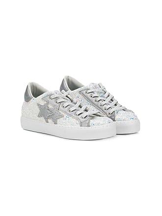 2Star Tênis com glitter - Branco