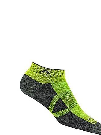 361436fb0ce3 Wigwam Mens Cl2 Pro Low Cut Midweight Ultimax Run Sock, limon MD