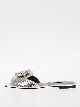 bdd3eab14dbb Dolce   Gabbana jewel Leather Slipper size 35