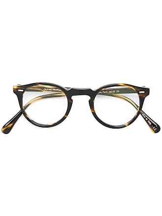 Oliver Peoples Óculos de grau Gregory Peck - Marrom