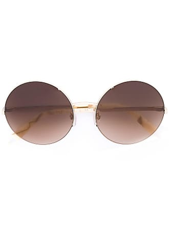 5b5c4e48404 Victoria Beckham round gradient lens sunglasses - Neutrals