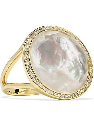 Ippolita Lollipop 18-karat Gold, Mother-of-pearl And Diamond Ring