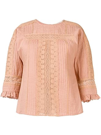 Vanessa Bruno lace work blouse - Rosa