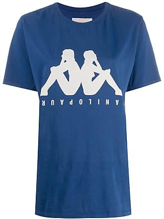Paura Camiseta com estampa de logo - Azul