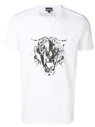 Just Cavalli graphic print T-shirt - White