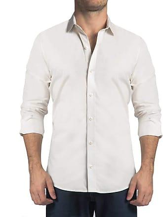 Sergio K. Camisa Stretch Lisa Branco
