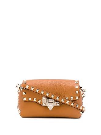 5a8e857d3733 Valentino Valentino Garavani Rockstud Spike bag - Neutrals