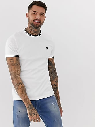 Fred Perry twin tipped t-shirt in white