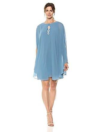 S.L. Fashions Womens Two Piece Caplet with Rhinestone Beaded Sleeveless Dress, Coronet, 8