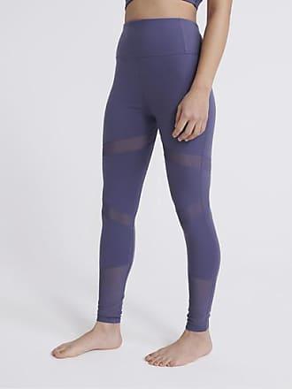 Damen Leggins Leggings Mit Seitentaschen 3//4 Länge Gym Workout Sporthose S-3XL