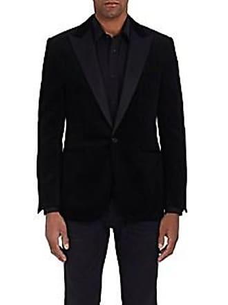 78298a15cdb1 Ralph Lauren Purple Label Mens Anthony Cotton Corduroy Tuxedo Jacket -  Black Size 44 R