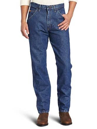 Wrangler Mens Big Riggs Workwear Relaxed Fit Jean, Medium Fade, 48x30