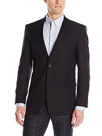 U.S.Polo Association Mens Hopsack Sport Coat, WIN3010J Black, 42 Regular