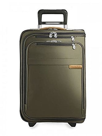 Briggs & Riley Baseline Domestic Carry-On Upright Garment Bag, Olive, Small