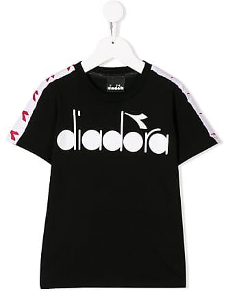 Diadora Camiseta com estampa de logo - Preto