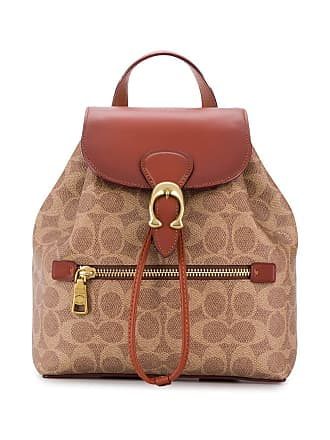 Coach Evie backpack in signature canvas - Neutrals
