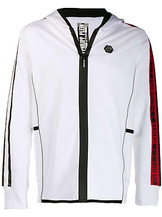 Philipp Plein hooded jacket - White