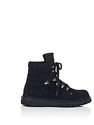 Moncler Mens Egide Suede Hiking Boots - Navy Size 11 M