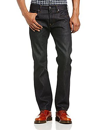 d961a6758eb38 G-Star Attacc Straight, Jeans Homme, Bleu (raw Denim 5684-001