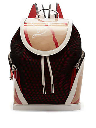 61730887fbe Christian Louboutin Kraft Explorafunk Chunky Knit Backpack - Mens - Beige  Multi