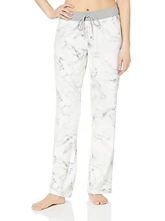 PJ Salvage Womens Marble Lounge Pant, Ivory, M