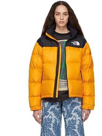 cffef3335 The North Face Black and Orange Down 1996 Retro Nuptse Jacket