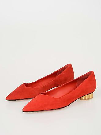 5795cbaa4dbb27 Salvatore Ferragamo Suede BARI Ballet Flats Größe 6