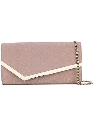 Jimmy Choo London Emmie clutch bag - Rosa