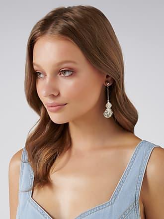 Forever New Marina Seaside Drop Earrings - Gold - 00