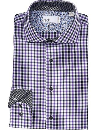 Nordstrom Rack Checkered Fit Trim Dress Shirt