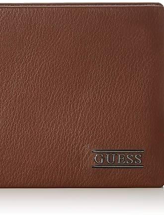 Guess New Boston, Mens Wallet, Brown, 2.5x9.6x12.2 cm (W x H L)