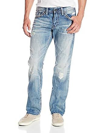 Silver Jeans Co Silver Jean Mens Zac Flap Jean, Indigo, 36x34