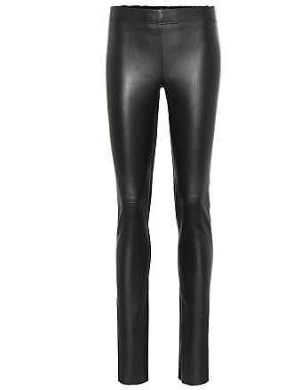 Joseph Leather straight pants