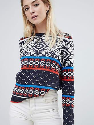 Noisy May fairisle sweater - Multi