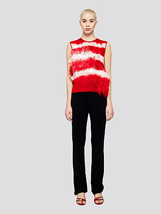 Msgm flair pants in viscose