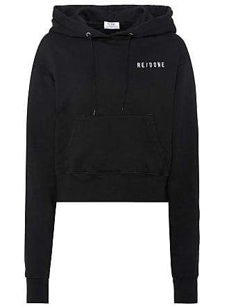Re/Done Hard Crop cotton hoodie