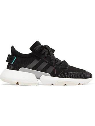 b96b347aa072a adidas Originals Pod-s3.1 Sneakers Aus Stretch-strick Mit  Velourslederbesatz - Schwarz