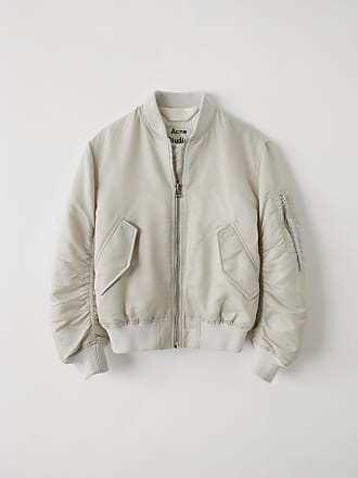 Acne Studios FN-WN-OUTW000077 Platinum grey Bomber jacket