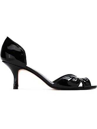 6075b5c0ae30 Sarah Chofakian patent leather pumps - Black