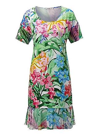 1ca6177ef7617f Madeleine FÉRAUD Strandkleid mit Blumenmuster Damen weiss/multicolor / blau