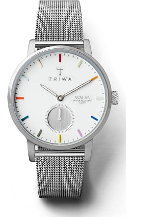 Triwa Crayon Svalan Watch | Steel Mesh Super Slim