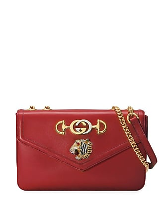 Gucci Bolsa tiracolo Rajah média - Vermelho