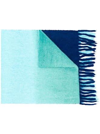 Acne Studios Kelow Dye two-tone scarf - Azul