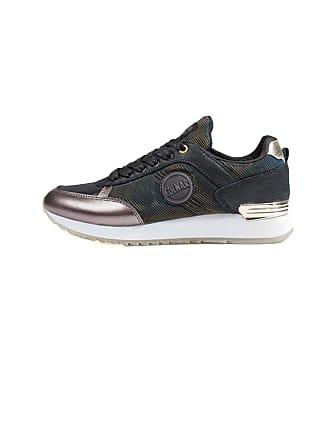 best sneakers 1c30e 3d298 Colmar Womens Trainers Black Black Black Size  4