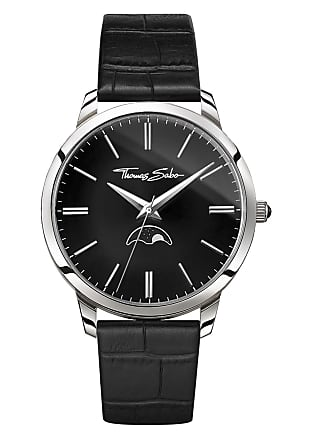 Thomas Sabo Thomas Sabo mens watch black WA0325-218-203-42 MM
