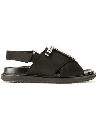 83866103ec3 Marni quilted Fussbett sandals - Black